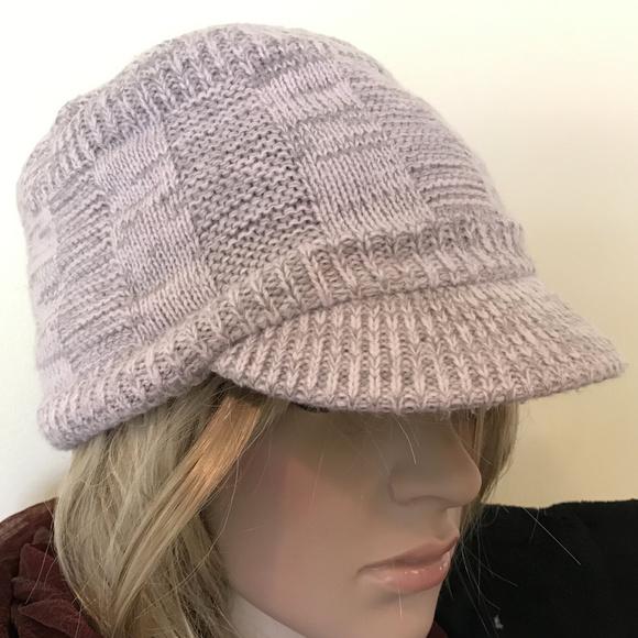 ff16f035801 adidas Accessories - Adidas Climawarm Pink   Gray Knit Brim Hat